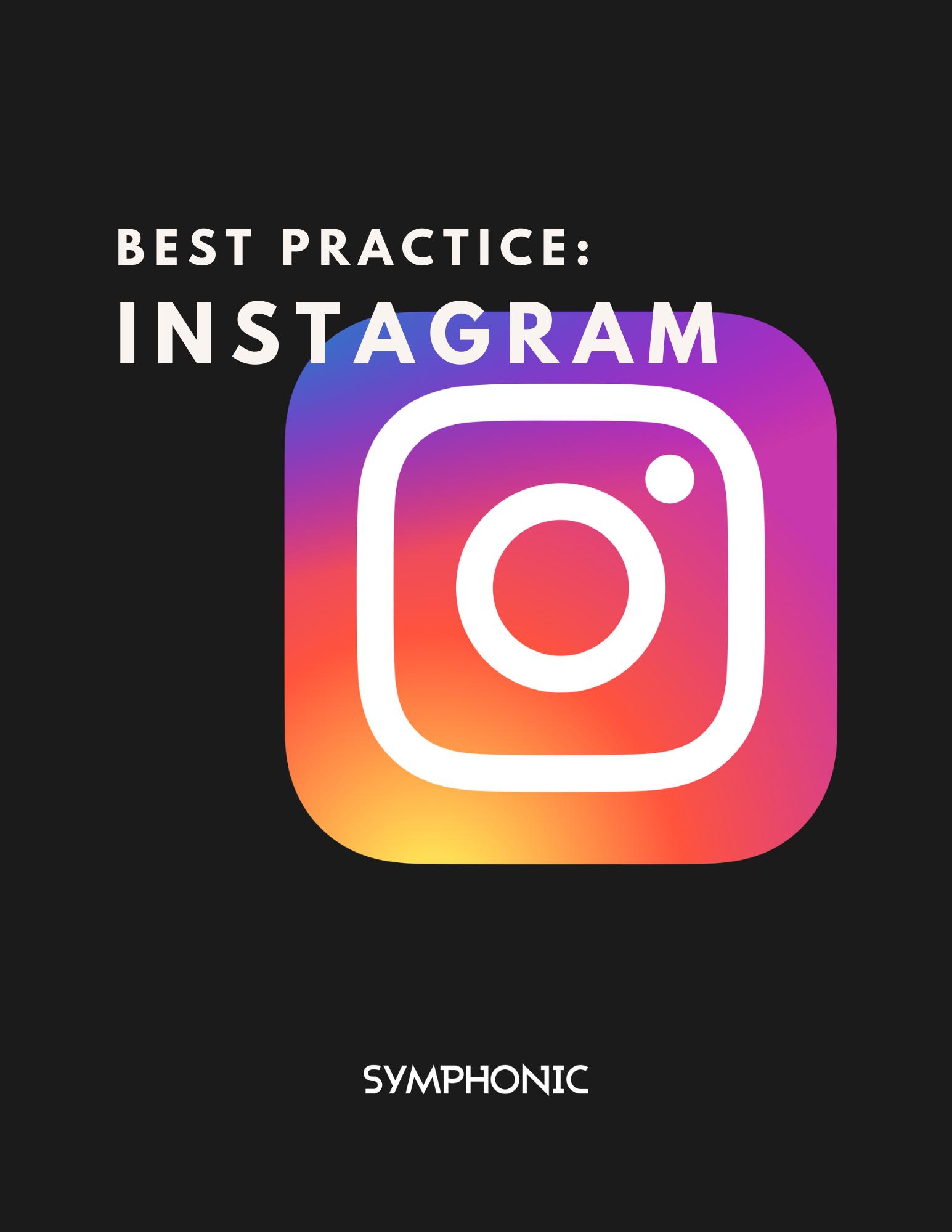 Best Practices Instagram