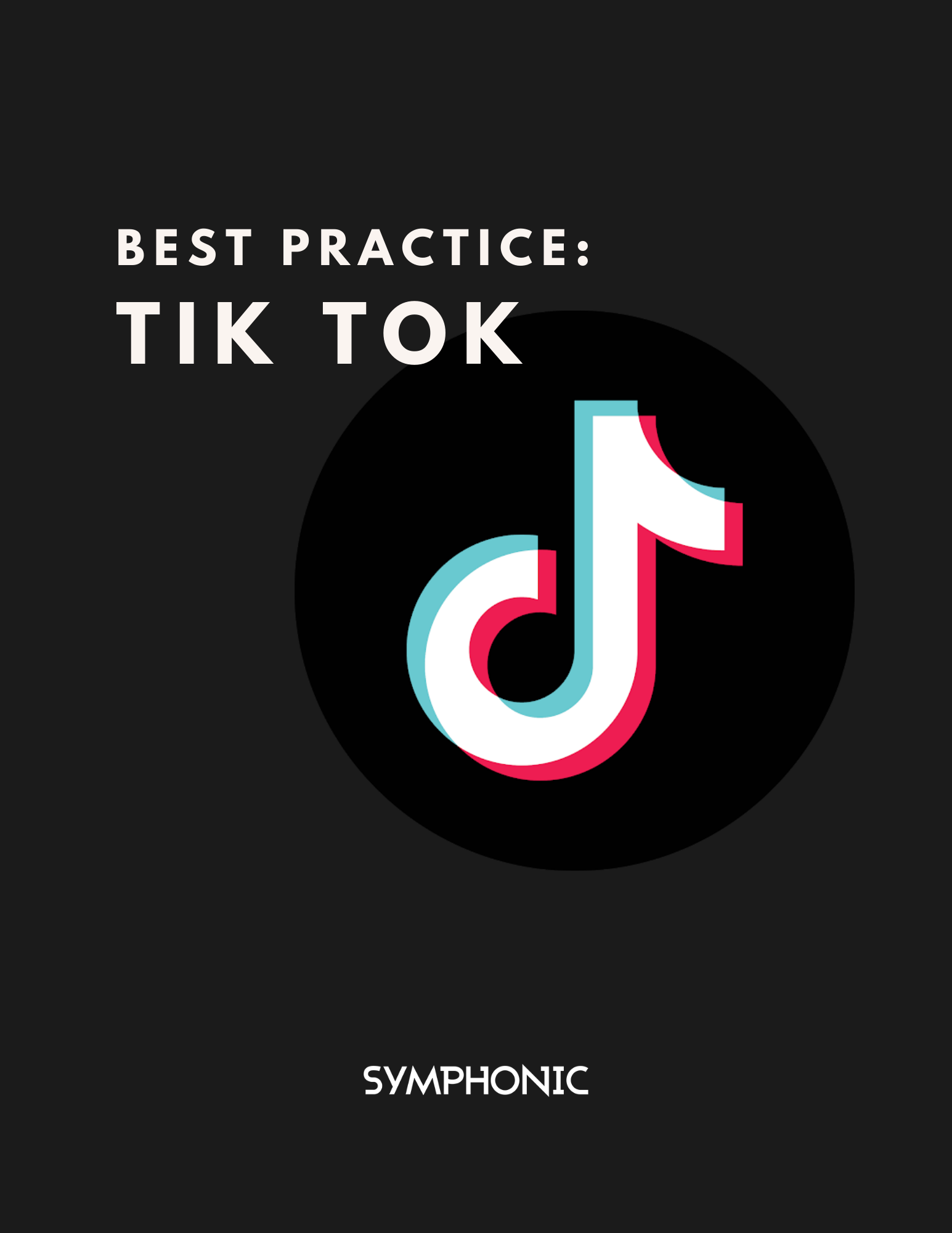 Best Practices Tik Tok