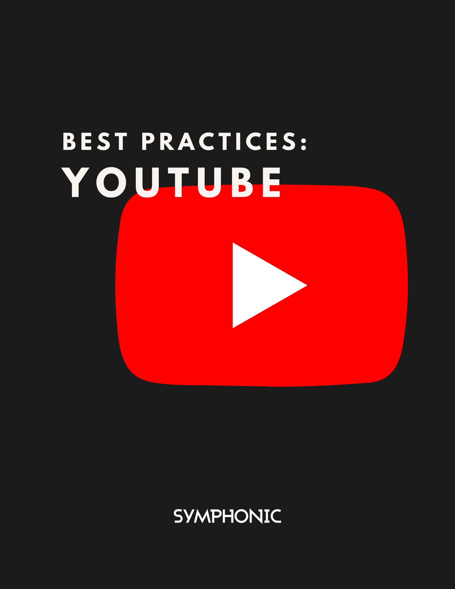 Best Practices YouTube